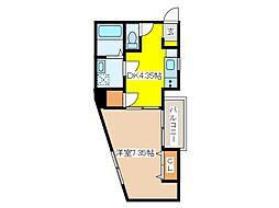(仮称)府中アパート[3階]の間取り