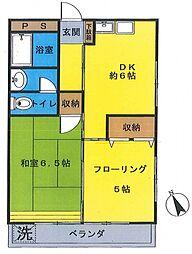 あづまマンション[302号室号室]の間取り