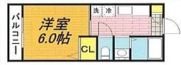 メゾネート戸田公園[1階]の間取り