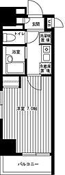 神奈川県川崎市川崎区砂子2丁目の賃貸マンションの間取り