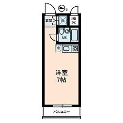 MAC千束コート[4階]の間取り