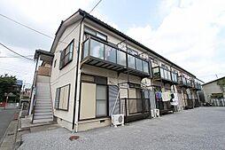 埼玉県川口市南鳩ケ谷2丁目の賃貸アパートの外観
