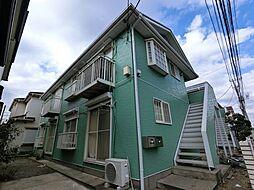 千葉県千葉市中央区末広2丁目の賃貸アパートの外観