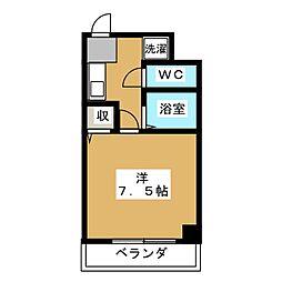 トライグループ烏丸ビル[4階]の間取り