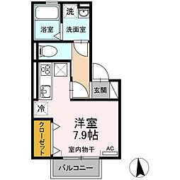 仮)D-room今池町[102号室]の間取り