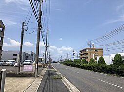 前面道路(2019年7月撮影)