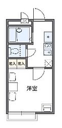 神奈川県横浜市南区大岡3丁目の賃貸アパートの間取り