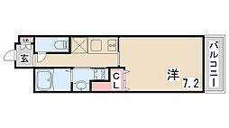 レジデンス神戸グルーブハーバーウエスト[2階]の間取り
