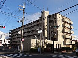 大阪府豊中市栗ヶ丘町の賃貸マンションの外観