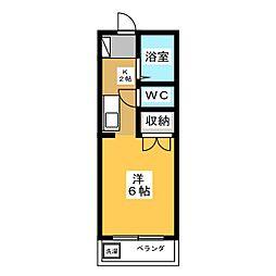 サントピア津田[2階]の間取り