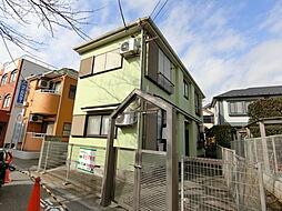 東京都日野市南平7丁目の賃貸アパートの外観