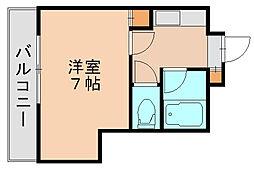 キーイースト[5階]の間取り