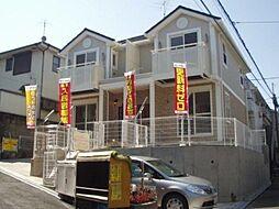 神奈川県川崎市中原区井田3丁目の賃貸アパートの外観