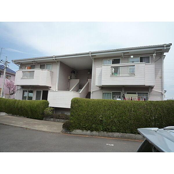 東京都町田市南成瀬4丁目の賃貸アパートの外観