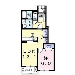 カンパーニュ B[1階]の間取り