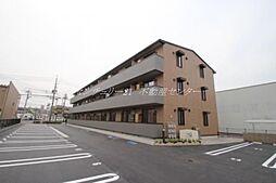 岡山県岡山市北区今8丁目の賃貸アパートの外観