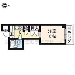 大藤マンション[4-C号室]の間取り