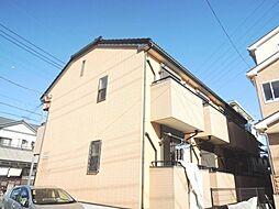 埼玉県川口市赤井1丁目の賃貸アパートの外観