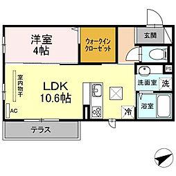 (仮)D-room山本3丁目[3階]の間取り