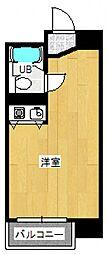 ピュアハイツ台町[3階]の間取り