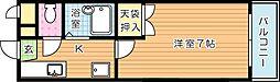 シャトレ新高[3階]の間取り