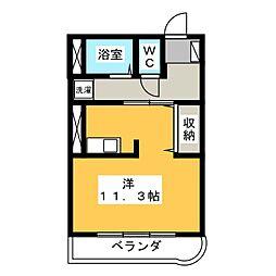セピアコート18[1階]の間取り