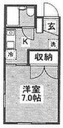 シンコー第二ビル[301号室]の間取り