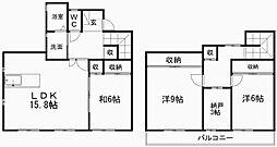 [タウンハウス] 静岡県浜松市中区佐鳴台5丁目 の賃貸【/】の間取り