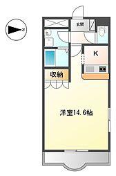 G・Residence[1階]の間取り