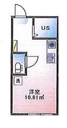 (仮称)ルームズ西早稲田A棟[102号室]の間取り