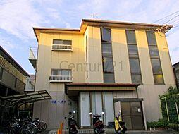 兵庫県川西市日高町の賃貸マンションの外観