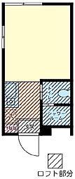 レモンホーム[205号室]の間取り