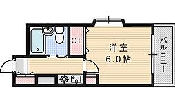三明ハイツ[403号室]の間取り