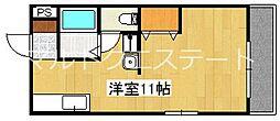 エクセル湊[1階]の間取り