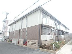 大阪府大阪市東住吉区住道矢田8丁目の賃貸アパートの外観