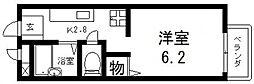 サンシャイン藤川[103号室号室]の間取り