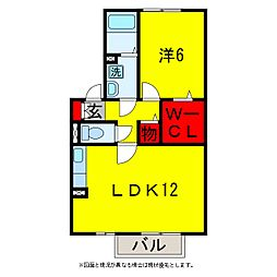 ELYSION HOUSEI・II[2階]の間取り