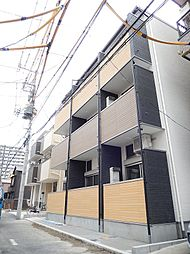 東京都江東区大島4丁目の賃貸アパートの外観