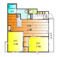 (仮称)シャーメゾン南恵我之荘7丁目計画[1階]の間取り