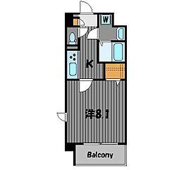レフレール[2階]の間取り
