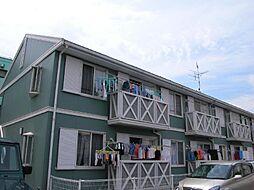 東京都調布市上石原3丁目の賃貸アパートの外観