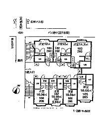 綱島グレイス[2階]の間取り
