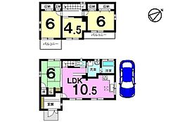 平成19年完成、セキスイハイム施工のお家です。人気のオール電化住宅。即入居可能です。お支払いは月々4万円台、お家賃並みで購入して頂けます。お好きな日に内覧できます