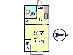 コア・シティII[3階]の間取り