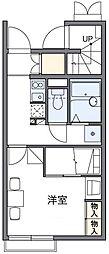 マロンハイツIV[1階]の間取り