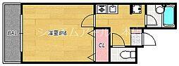 べレッツア南天神[5階]の間取り