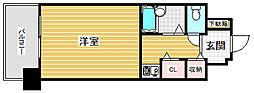 リーガル新神戸[5階]の間取り