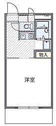 AOKI[1階]の間取り