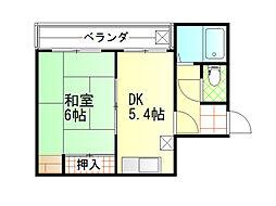 近藤ビル[4階]の間取り