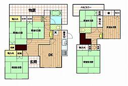 [一戸建] 神奈川県横須賀市西浦賀2丁目 の賃貸【/】の間取り